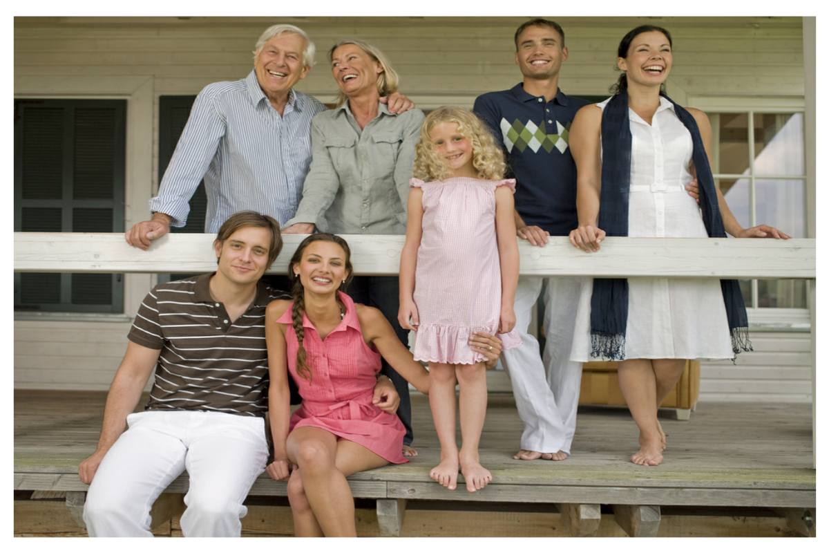 This photo portrays 3 generations of a family. Different trusts serve different generations' needs.