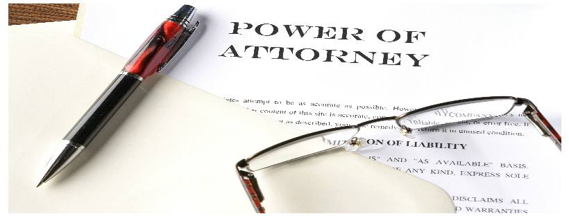 A free power of attorney provides the purchased value, which may be little, nothing, or worse. This image of a power of attorney with an ink pen and set of glasses should remind people to read and question the documents that they sign carefully.
